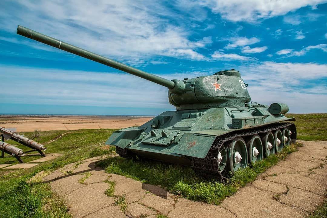 Музей военной техники «Военная горка» (Темрюк)
