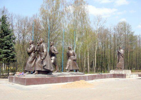 Памятник подвигу матери-патриотки А. Ф. Куприяновой (Жодино)
