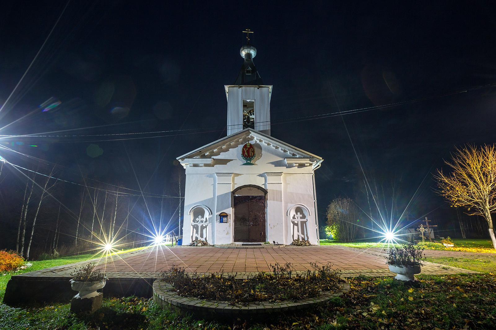 Церковь Спаса в деревне Еройла (Олонец)