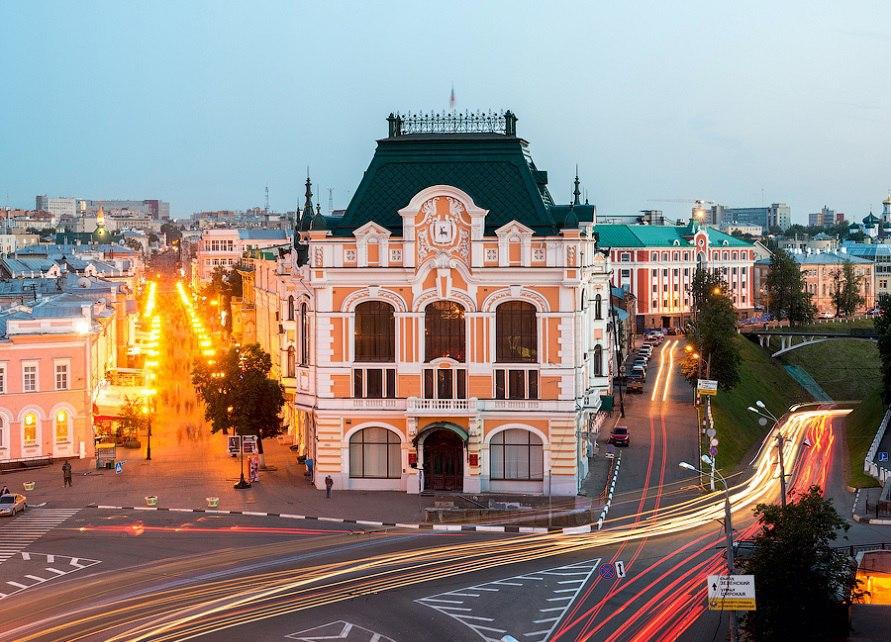 Дворец труда (бывшая Городская дума) (Нижний Новгород)