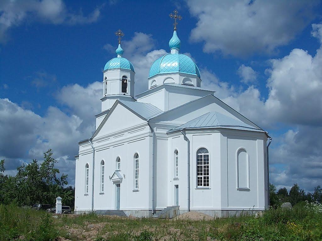Церковь Благовещения Пресвятой Богородицы (Подпорожье)