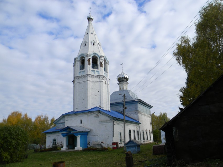 Церковь Благовещения Пресвятой Богородицы (Воронцово) (Пучеж)