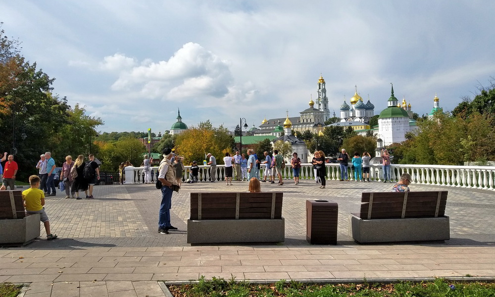 Смотровая площадка на Блинной горе (Сергиев Посад)