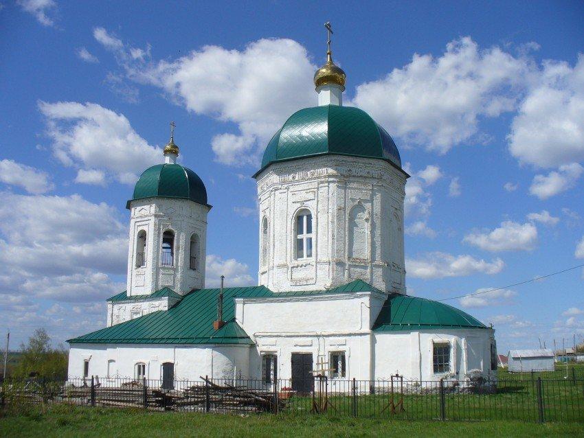 Троицкая церковь в селе Новотроицк (Альметьевск)