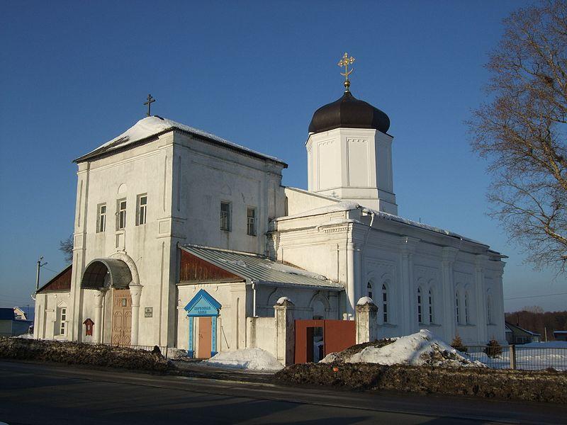 Церковь Успения Пресвятой Богородицы (Гжель)