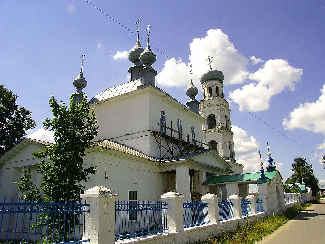 Преображенская церковь (Шуя)