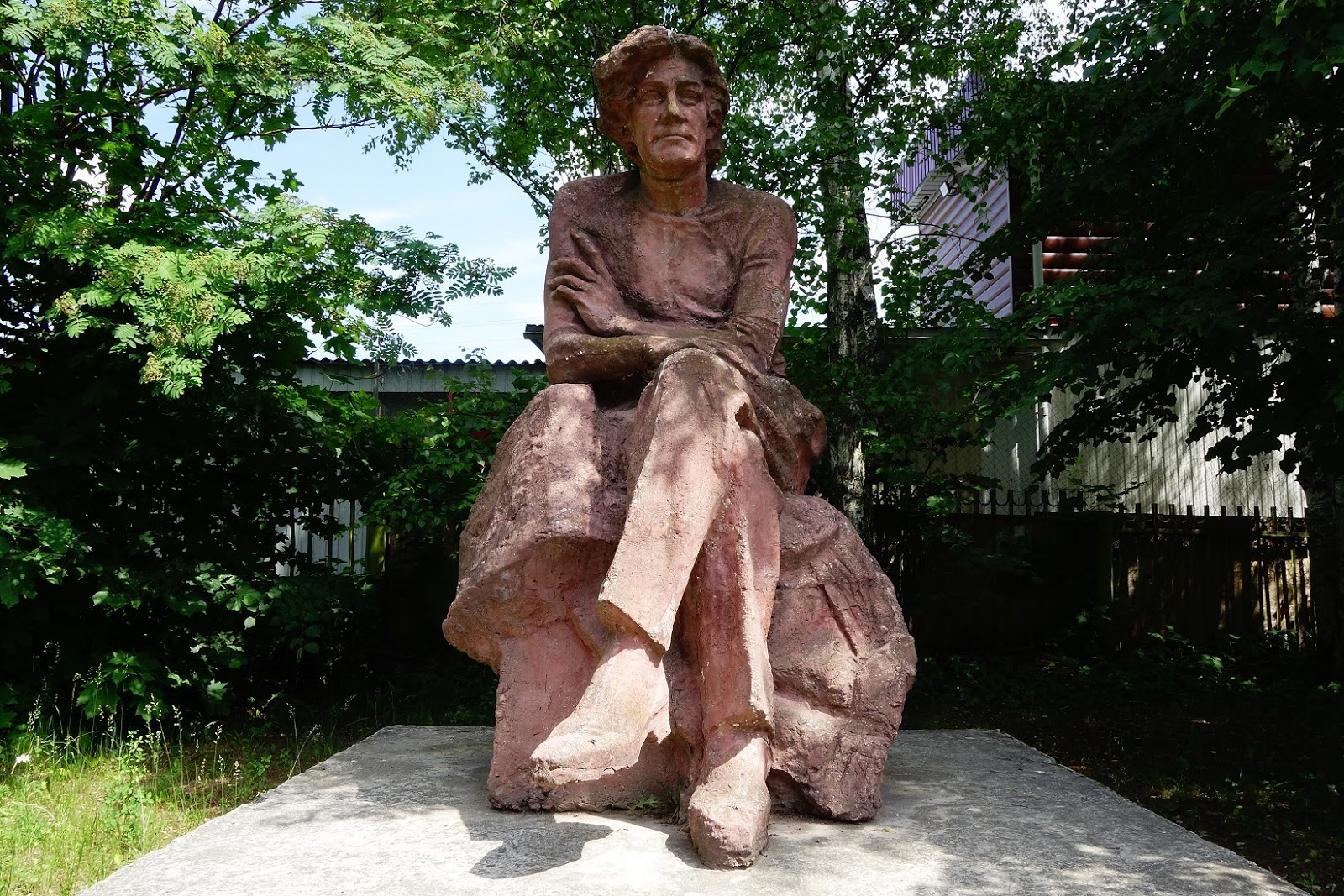 Памятник С. А. Клычкову (Талдом)