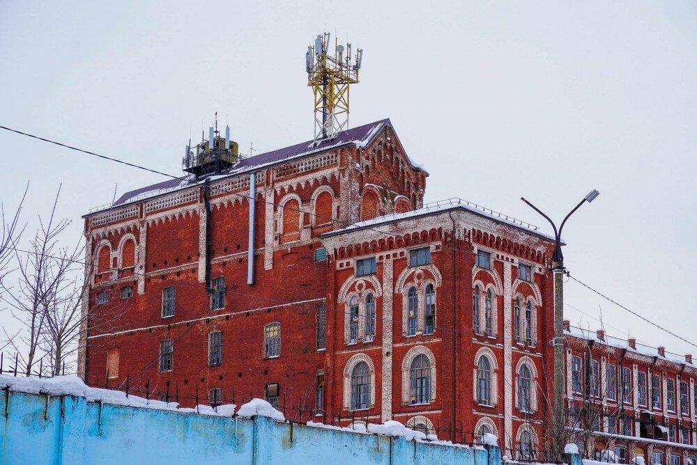 Текстильная фабрика (Дрезна)