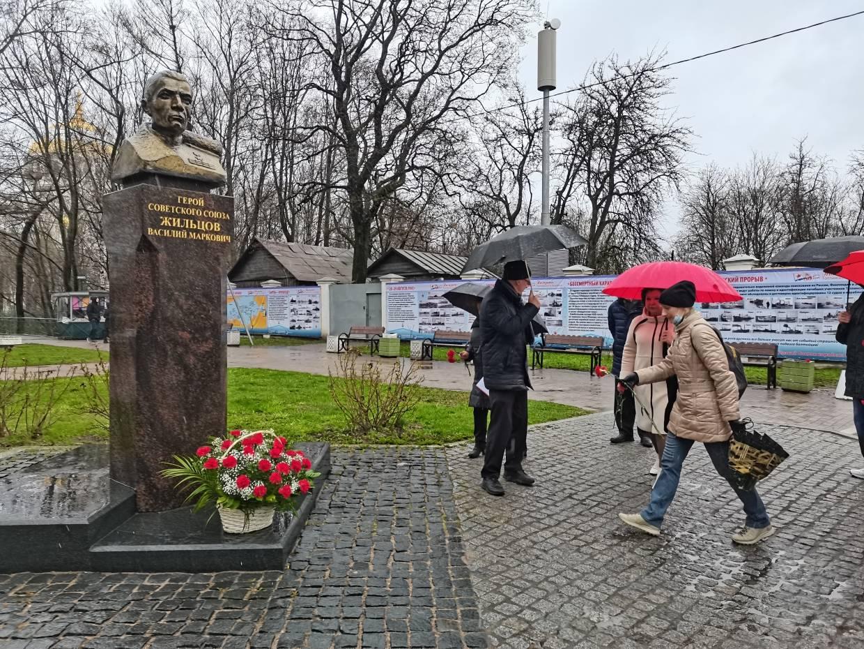 Памятник В. М. Жильцову (Кронштадт)