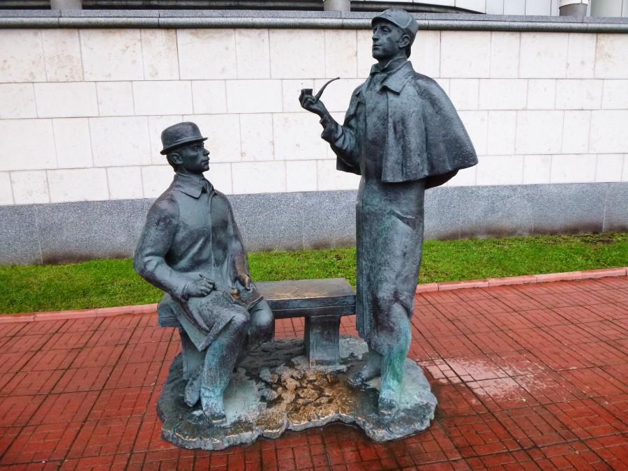 Скульптура «Шерлок Холмс и доктор Ватсон» (Москва)