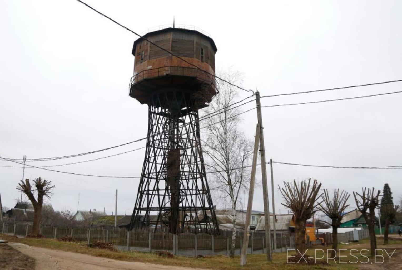 Гиперболоидная башня в Помошной (Кировоградская область)