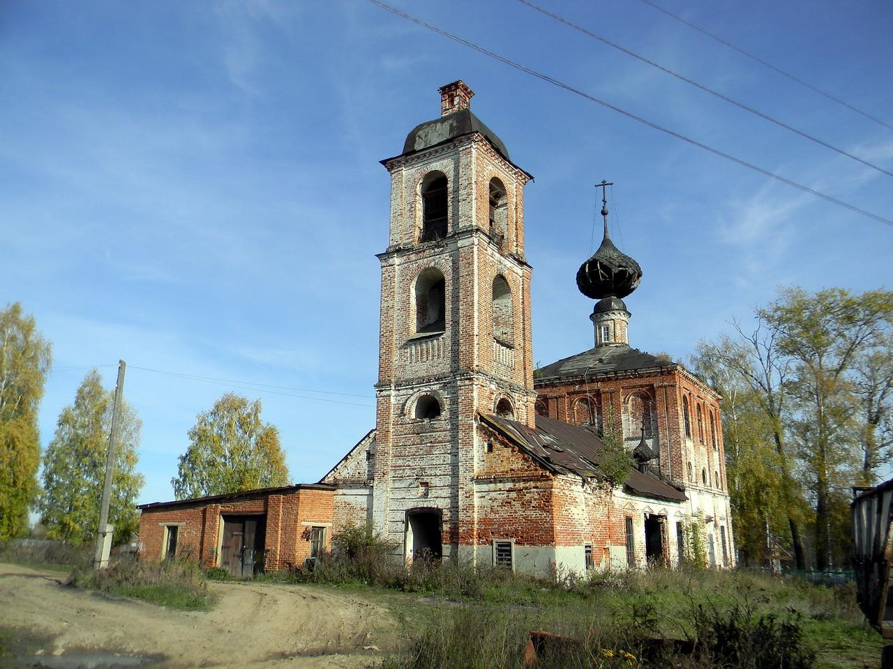 Церковь Покрова Пресвятой Богородицы (Мортки) (Пучеж)