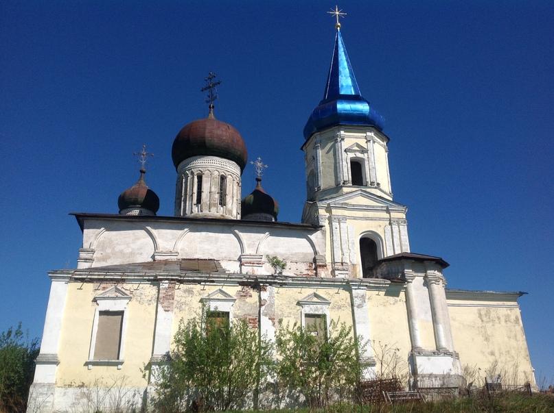 Успенская церковь в с. Иваниши (Старица)