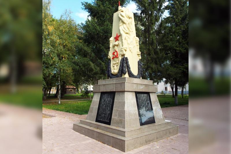 Памятник участникам гражданской войны (Данилов)