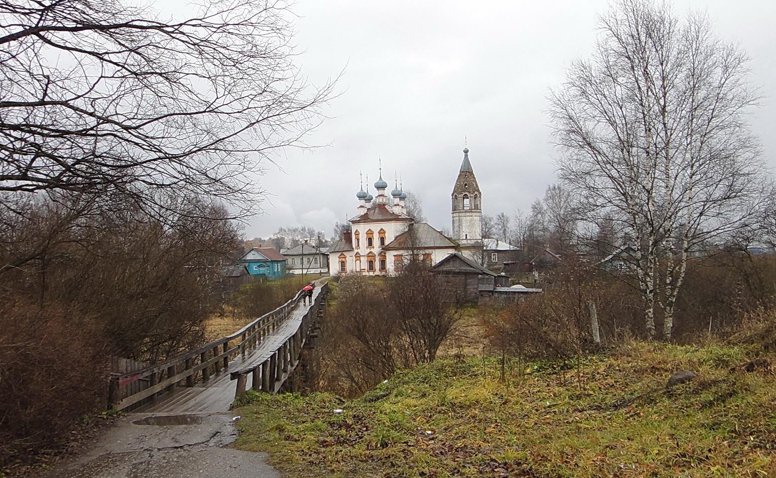 Устюженское городище (Устюжна)