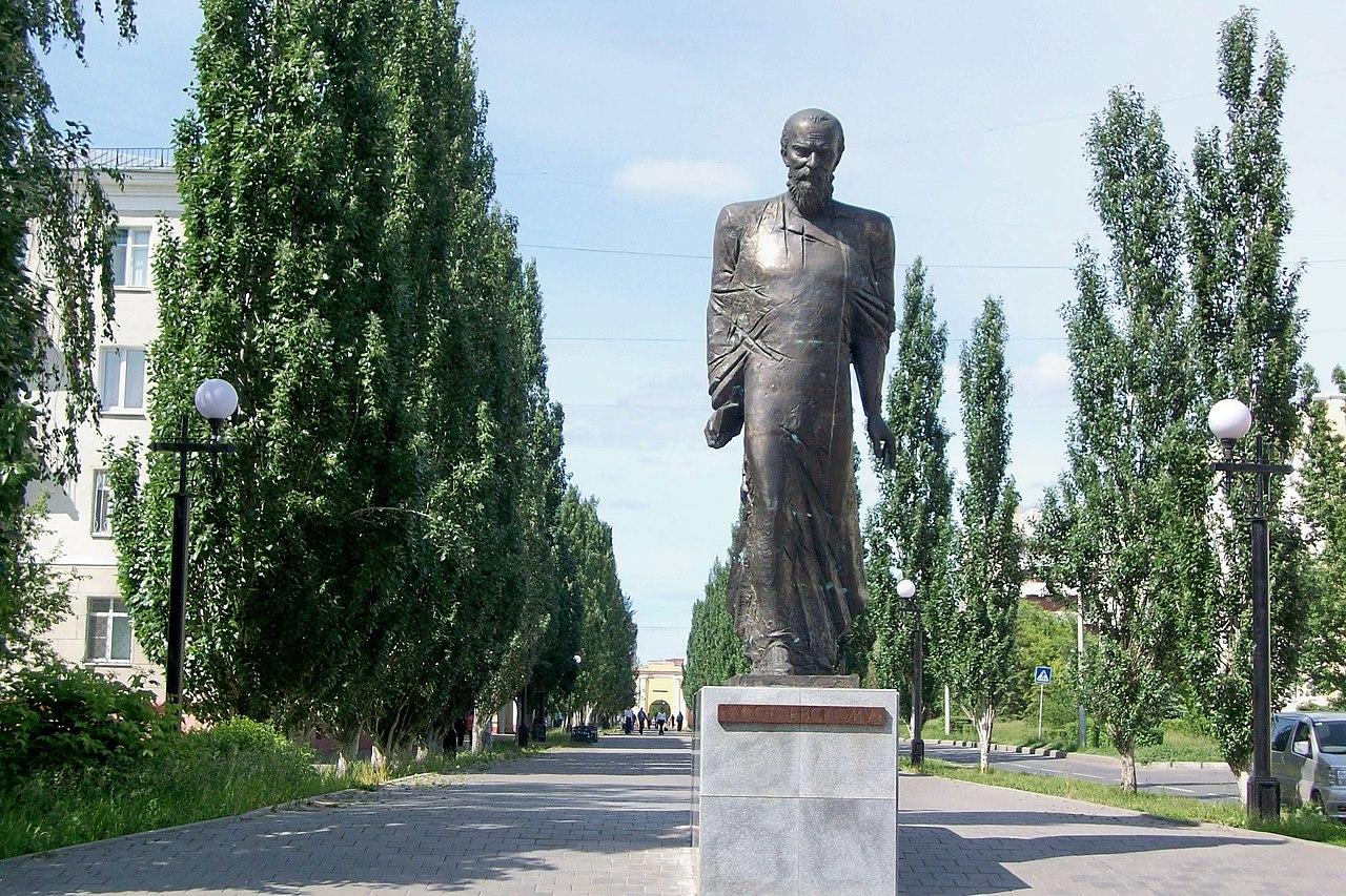 Памятник Ф. М. Достоевскому (Омск)