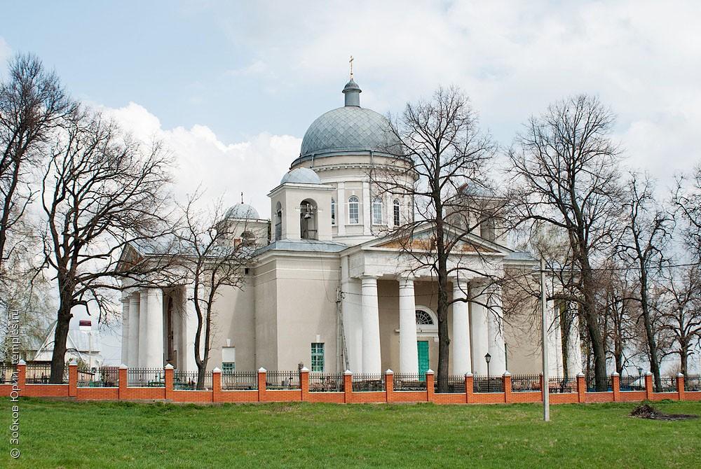 Никольская церковь (Серебряные Пруды)