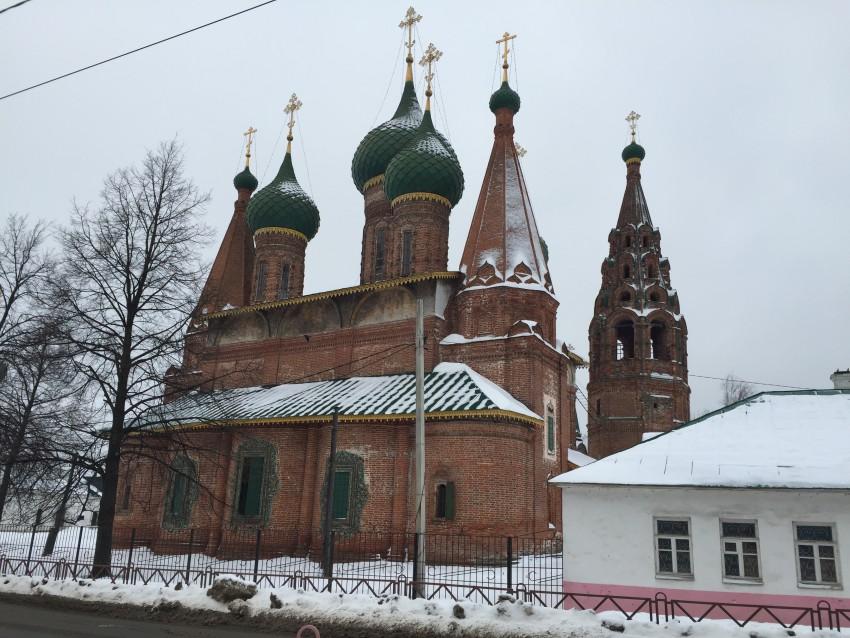 Церковь Николая Чудотворца (Николы Мокрого) (Ярославль)