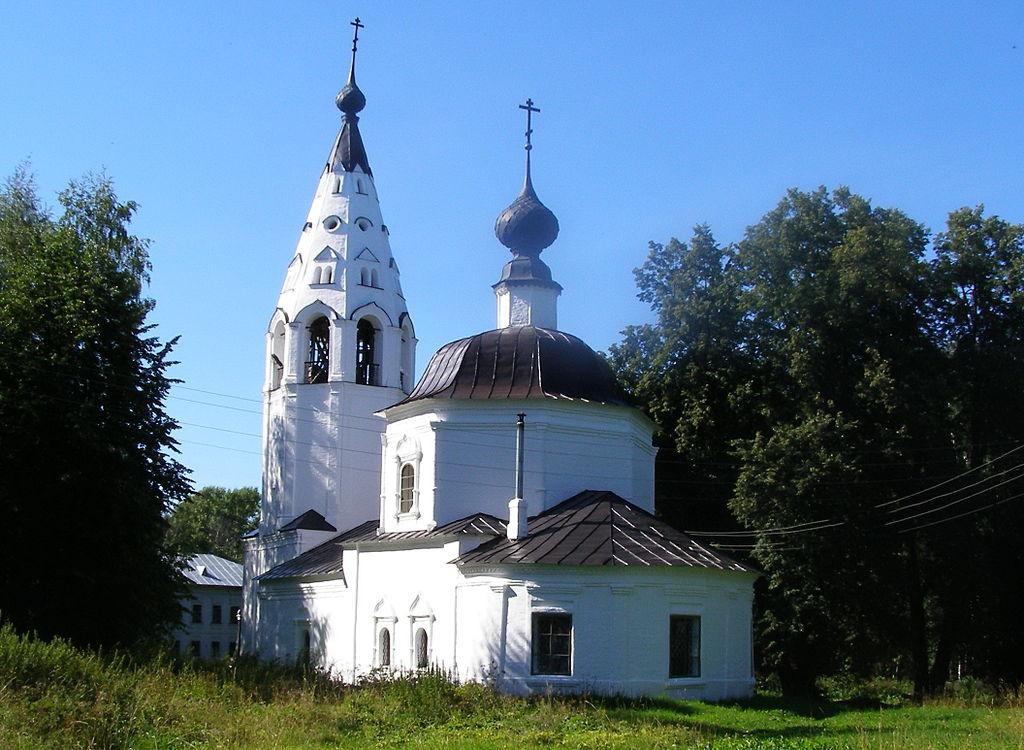 Успенский собор на Соборной горе (Плёс)