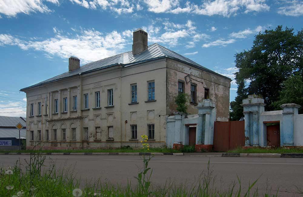 Типичная городская усадьба (Зарайск)