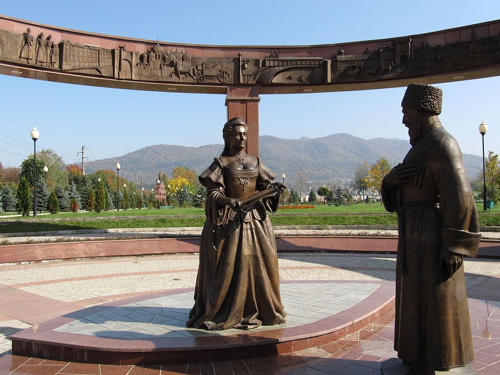 Памятник 200-летию добровольного вхождения Осетии в Россию (Владикавказ)
