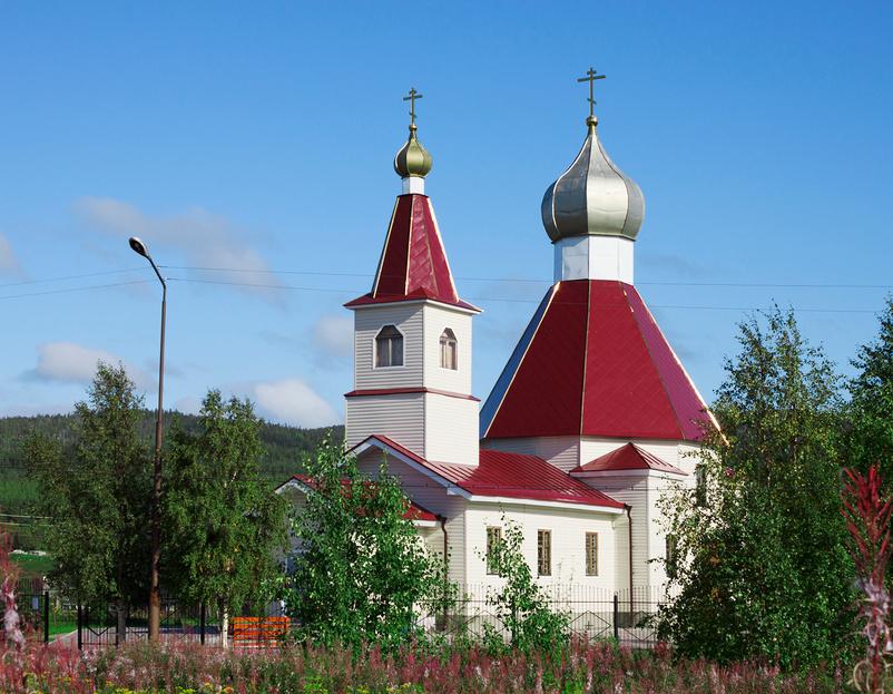 Церковь Рождества Иоанна Предтечи (Кандалакша)