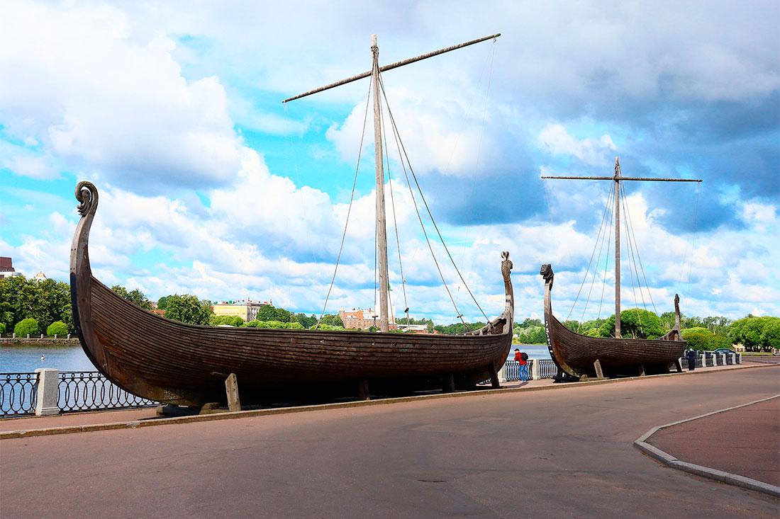 Драккары викингов (Выборг)