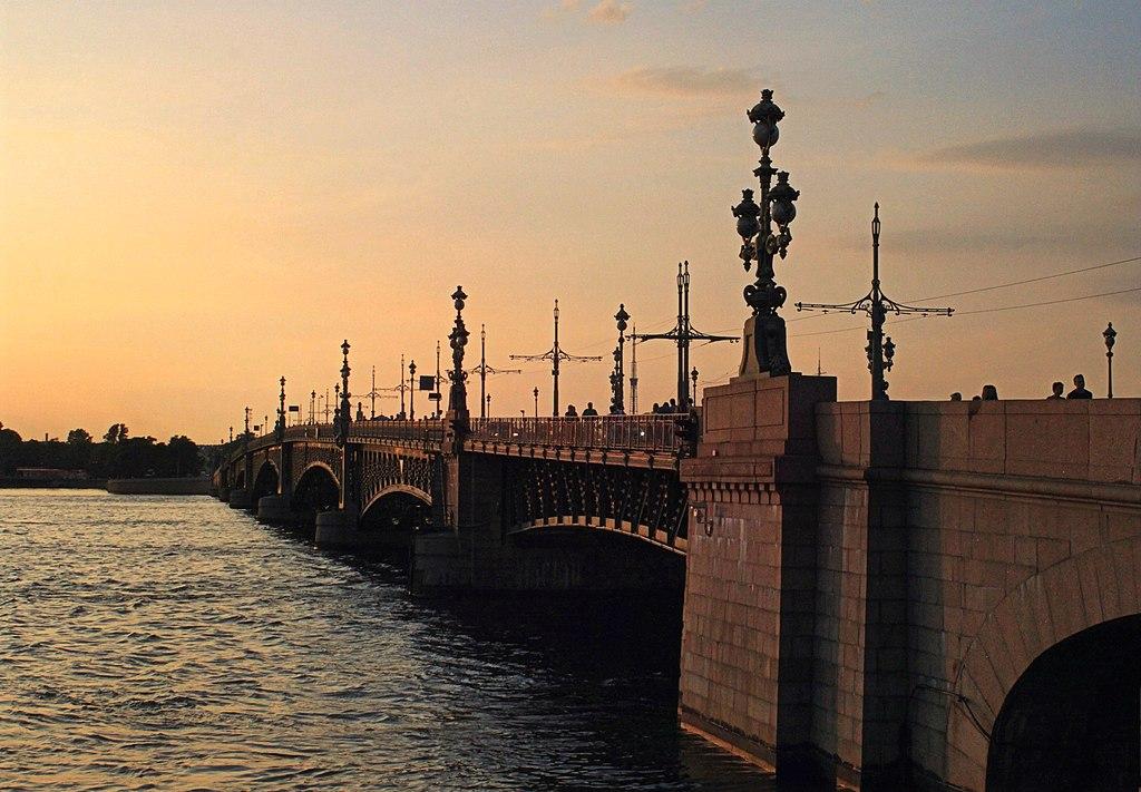Троицкий мост (Санкт-Петербург)