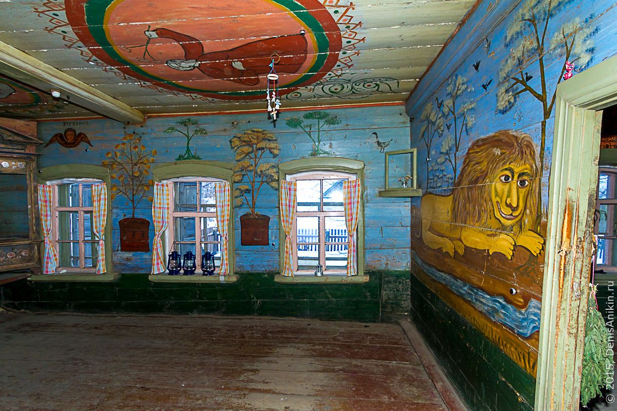 «Дом со львом» в селе Поповка (Хвалынск)