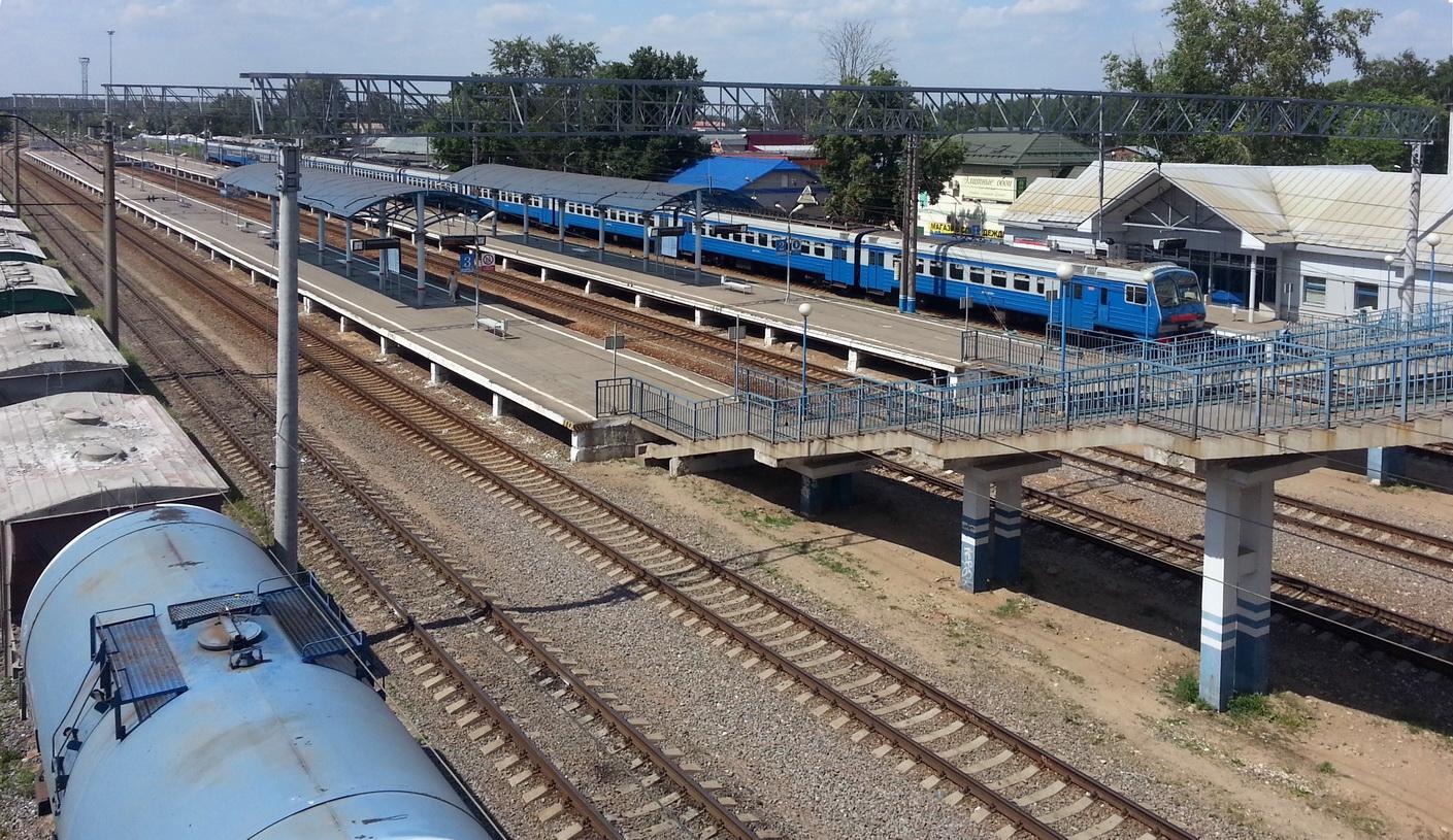 Железнодорожный вокзал «Монино» (Лосино-Петровский)