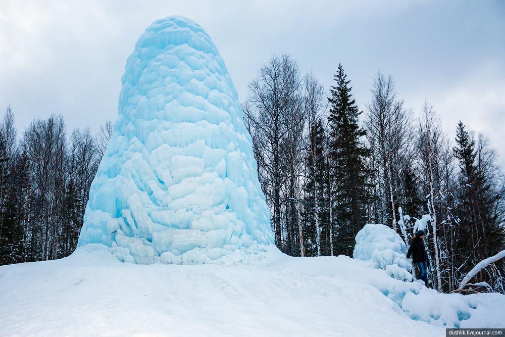 «Таёжный фонтан» (деревня Сибирка) (Сатка)