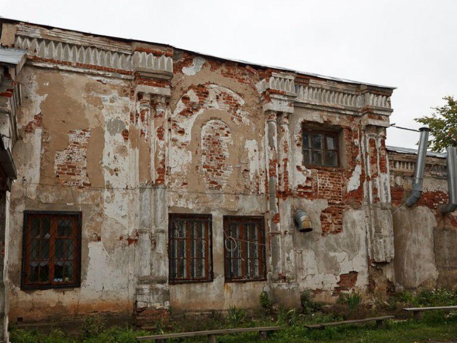 Остатки тюремного замка (Шуя)