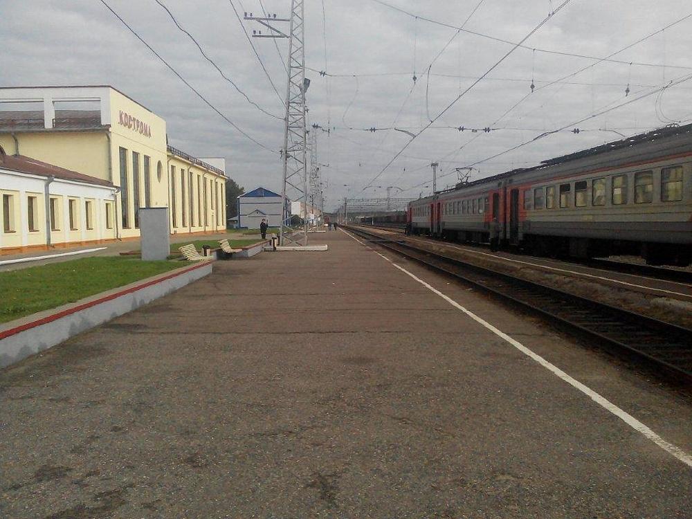 Комнаты отдыха на ж/д вокзале (Кострома)