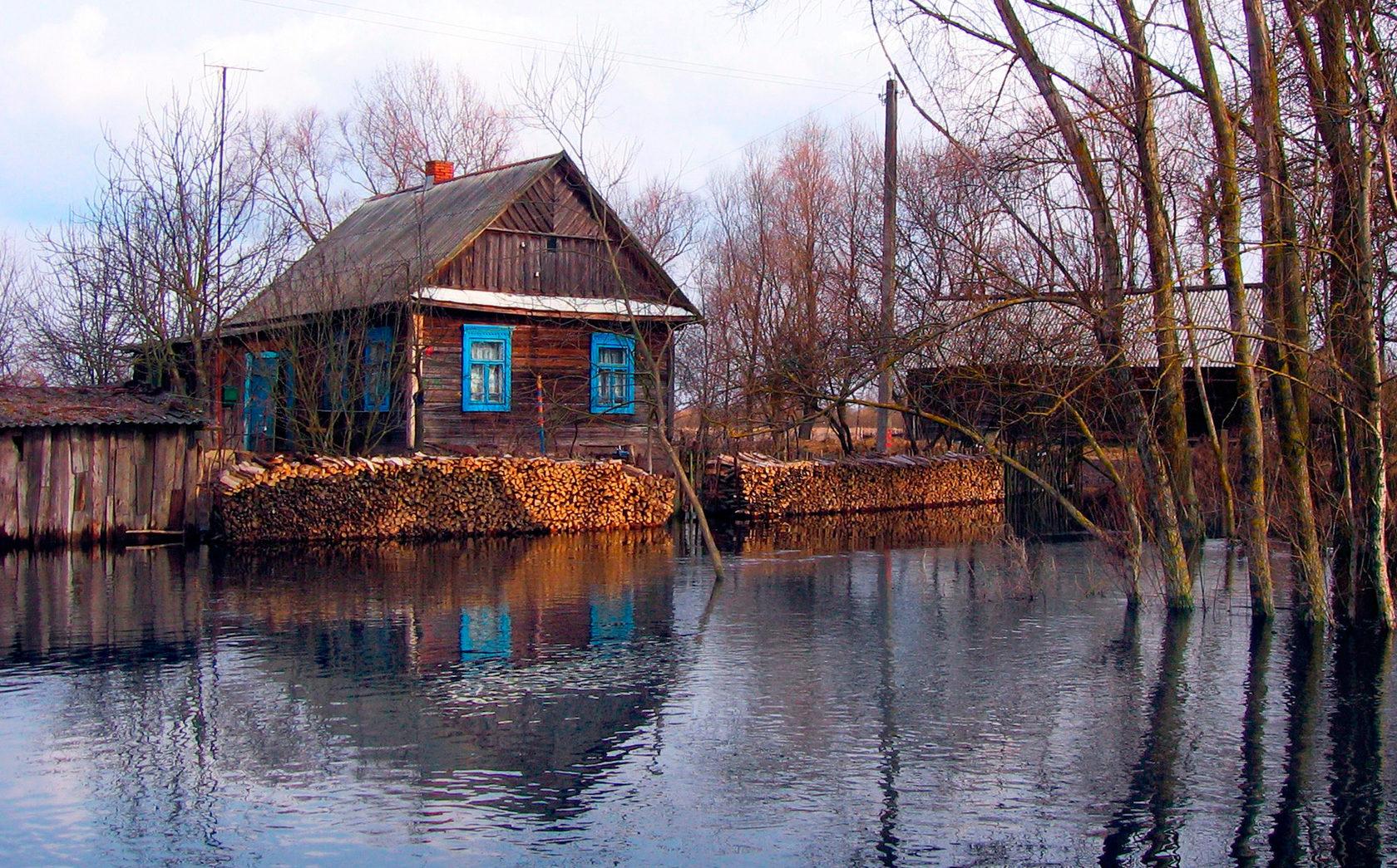 Деревня Кудричи— «белорусская Венеция» (Пинск)