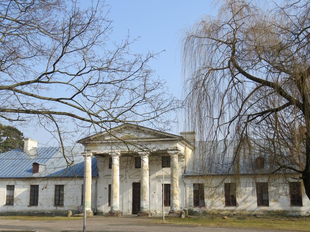 Замок Сапег в Высоком (Высокое)