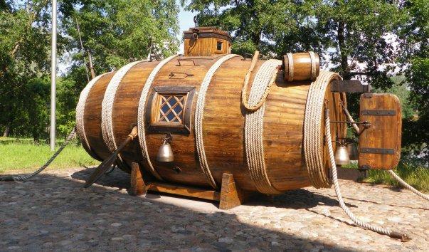Первая подводная лодка (Сестрорецк)
