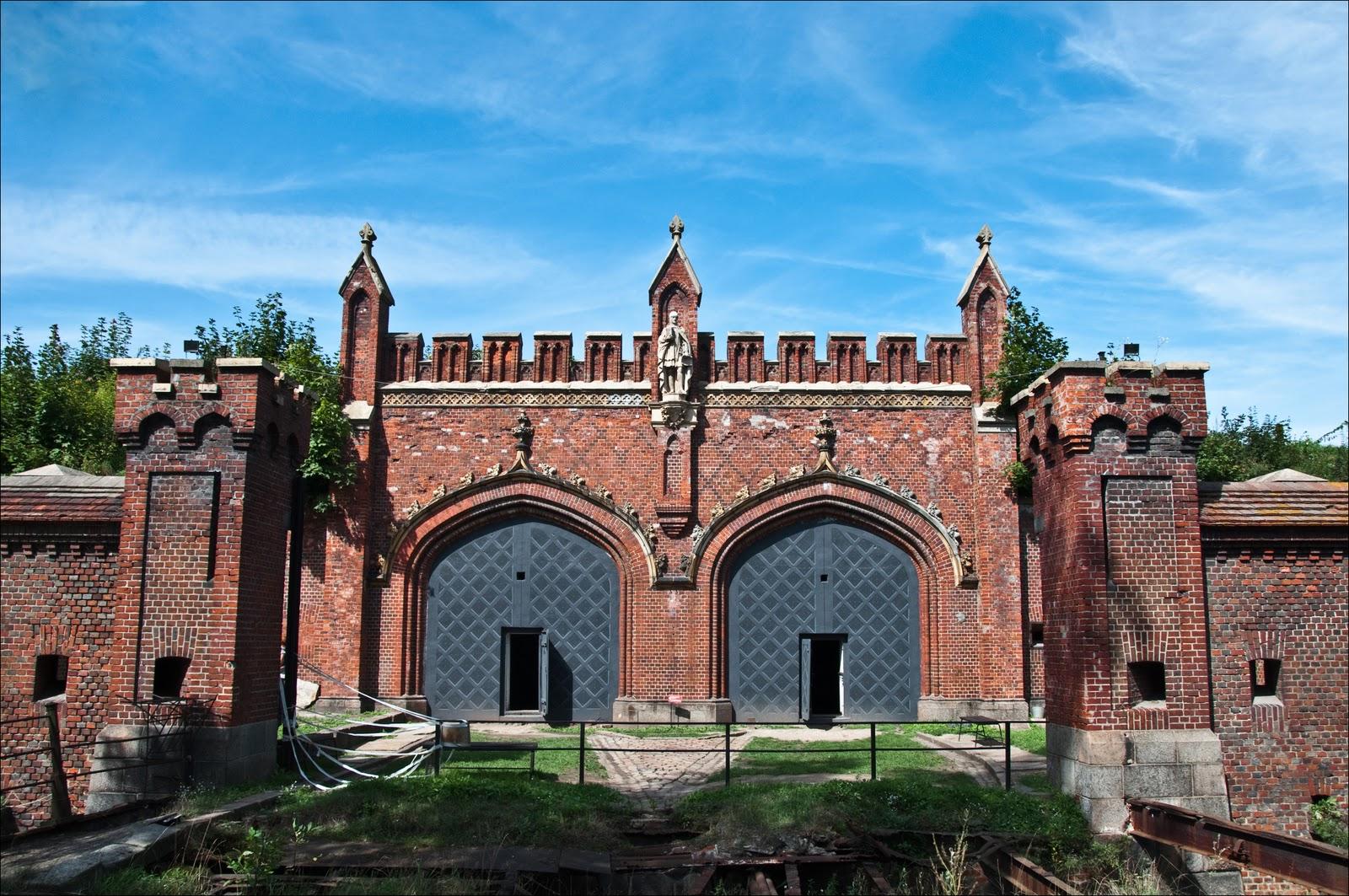 Городские ворота старого Кенигсберга (Калининград)