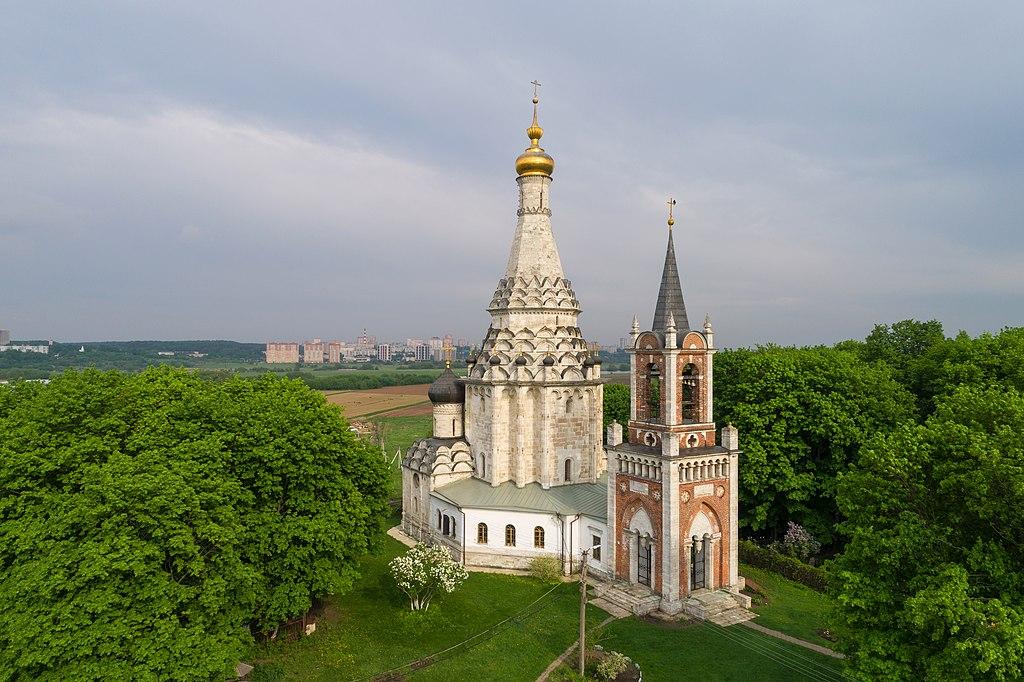 Церковь Преображения в с. Остров (Московская область)
