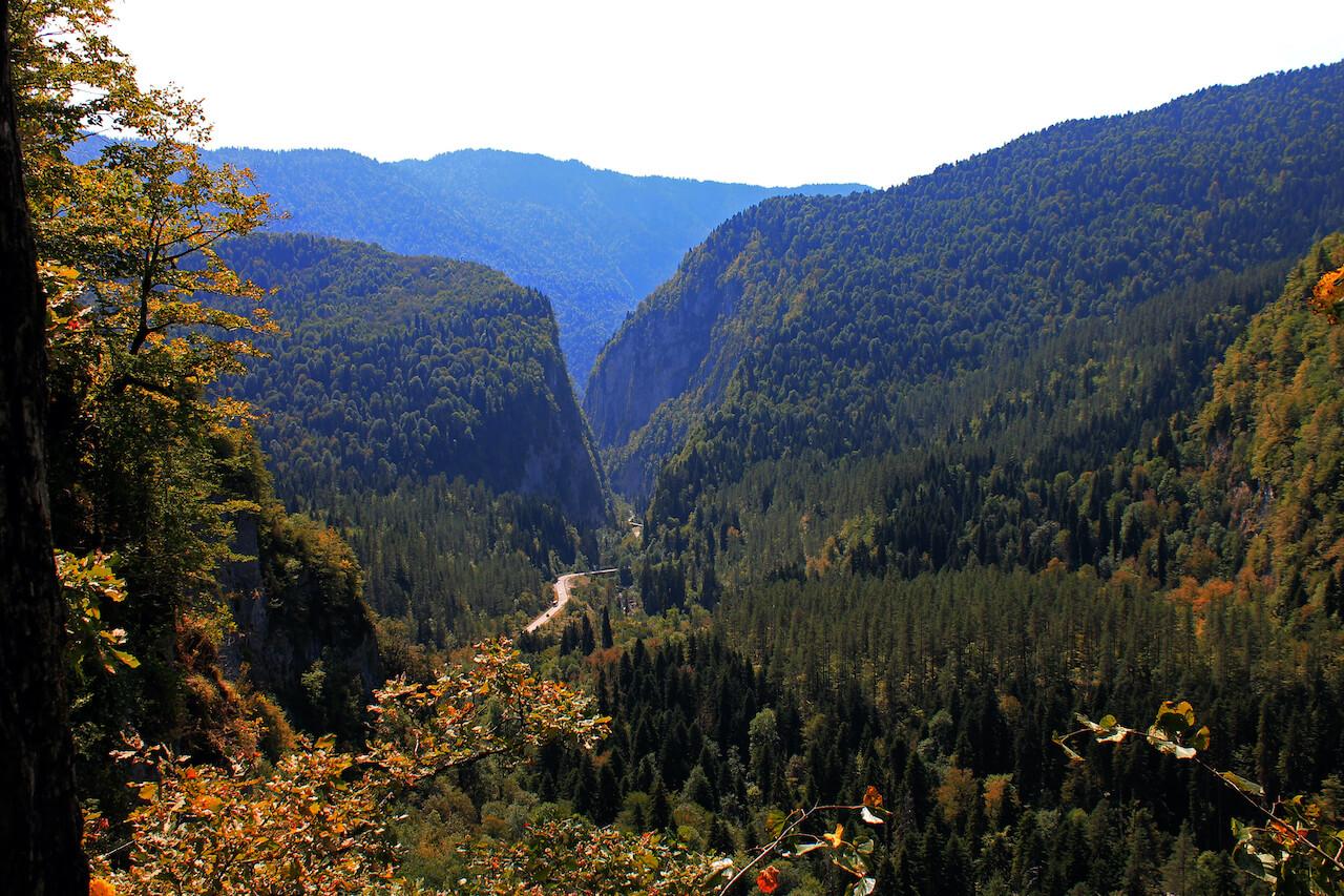 Долина семи озёр (Каменная поляна) (Рицинский нацпарк)