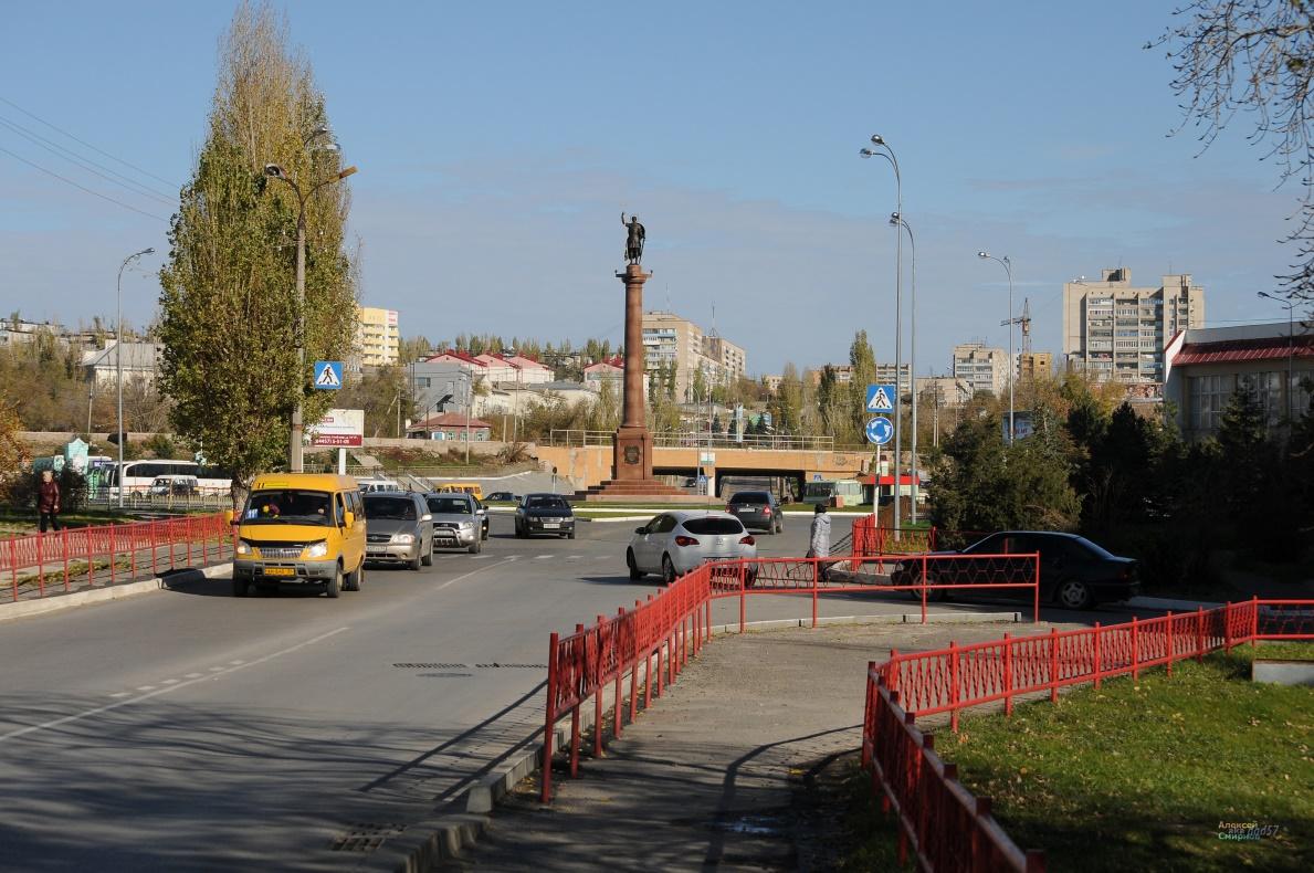 Памятник Дмитрию Солунскому (Камышин)