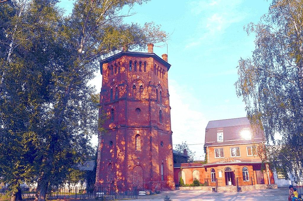 Старинная водонапорная башня (Рамонь)