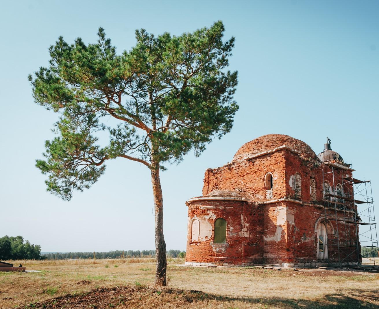 Церковь Дионисия Глушицкого (Чирково) (Бугульма)