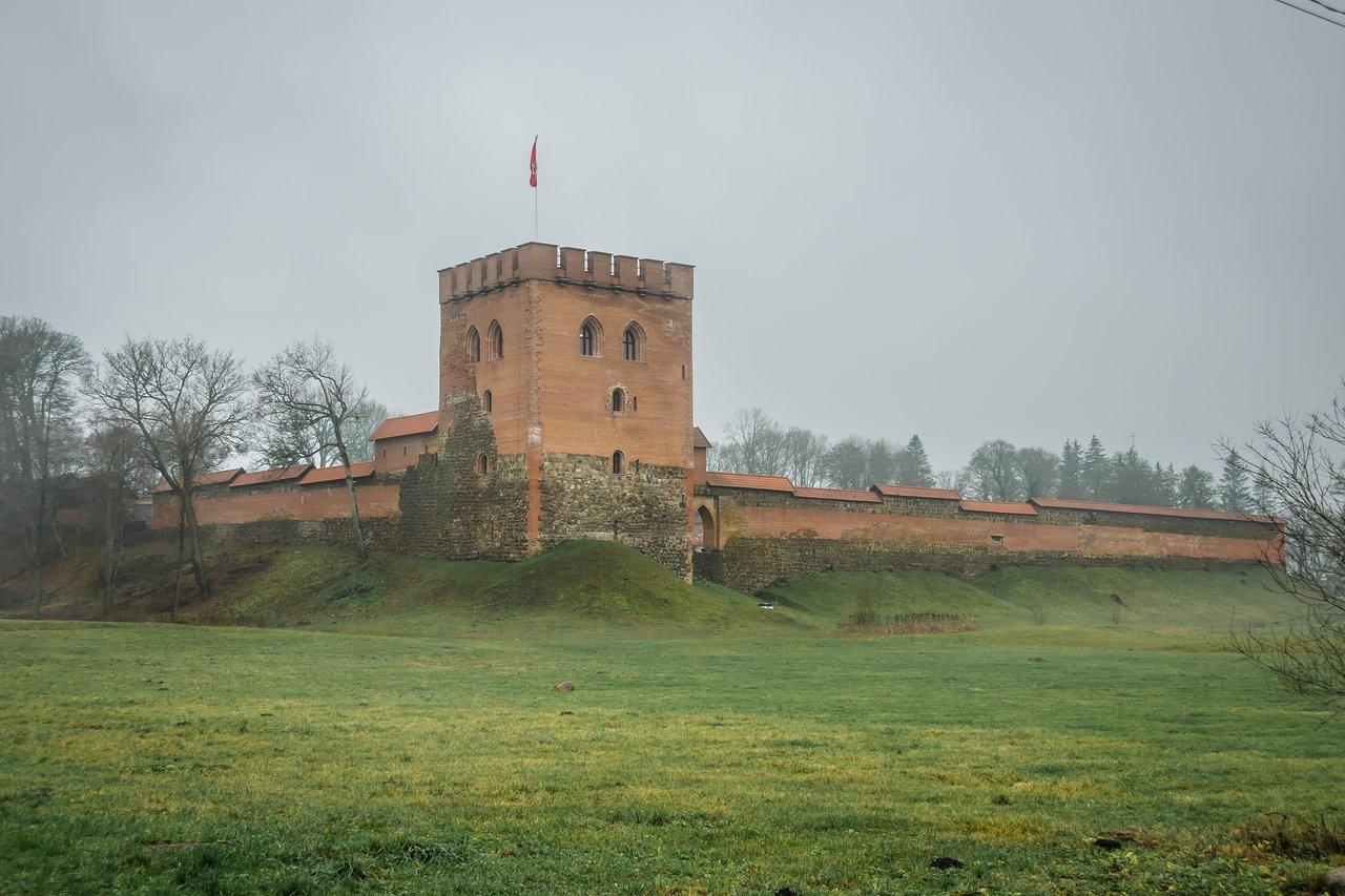 Медининкайский (Медницкий) замок (Литва)