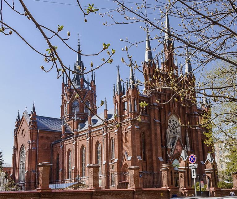 Старый католический костёл (Москва)