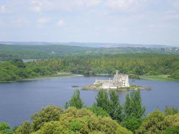 Остров-замок на озере Мядель (Мядель)