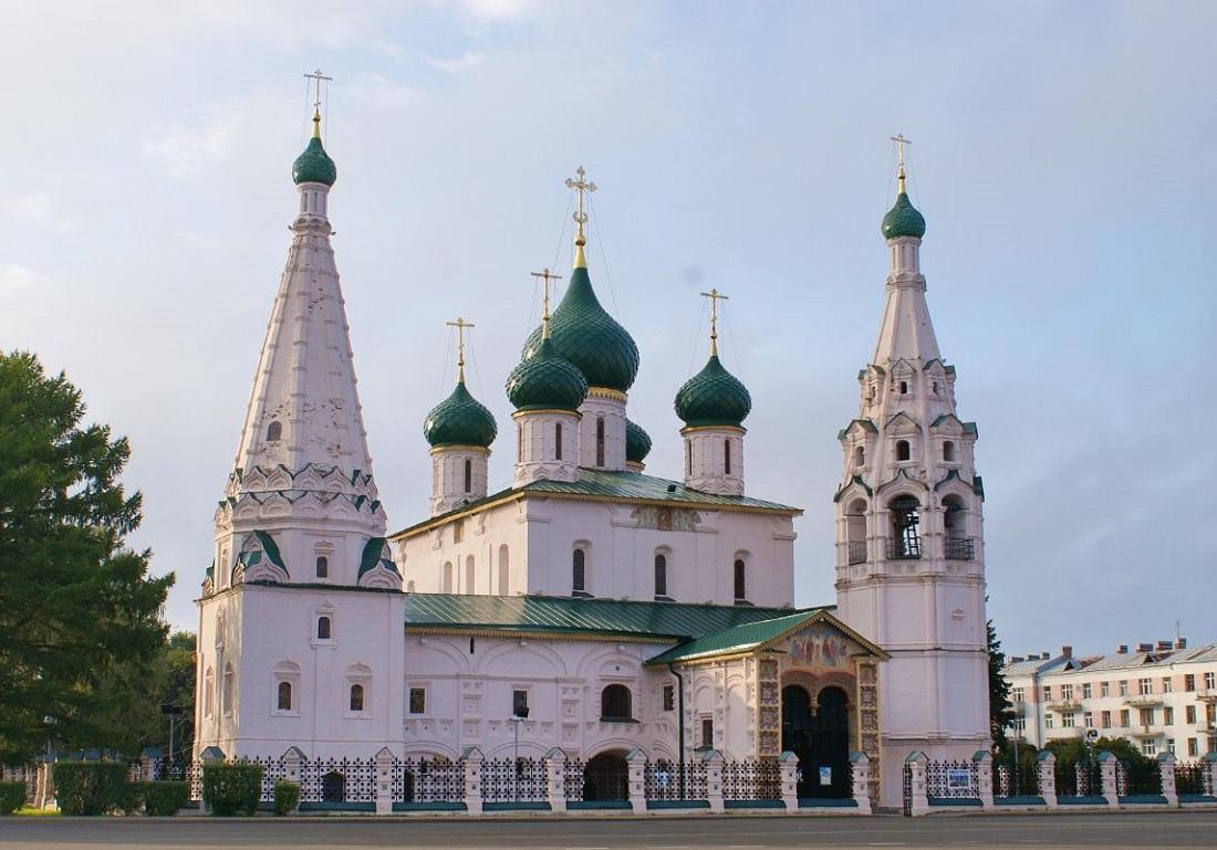 Церковь Николая Чудотворца (Николы Рубленого) (Ярославль)