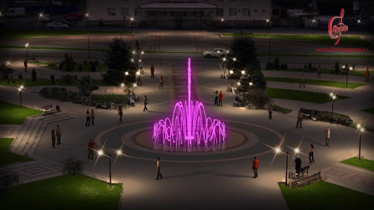 Сквер с фонтаном (Усть-Лабинск)