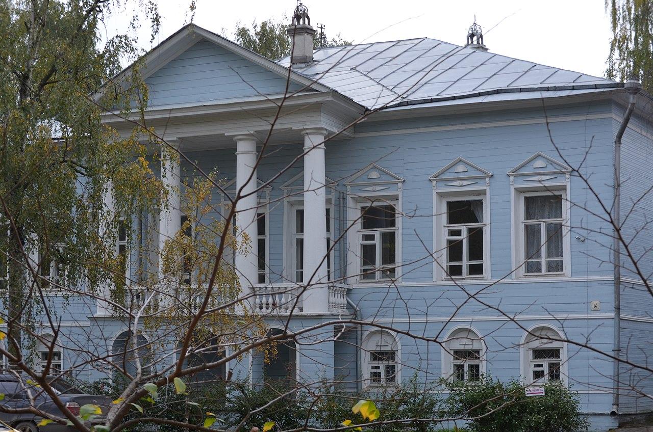 Дом Юшина (Детская библиотека) (Вологда)