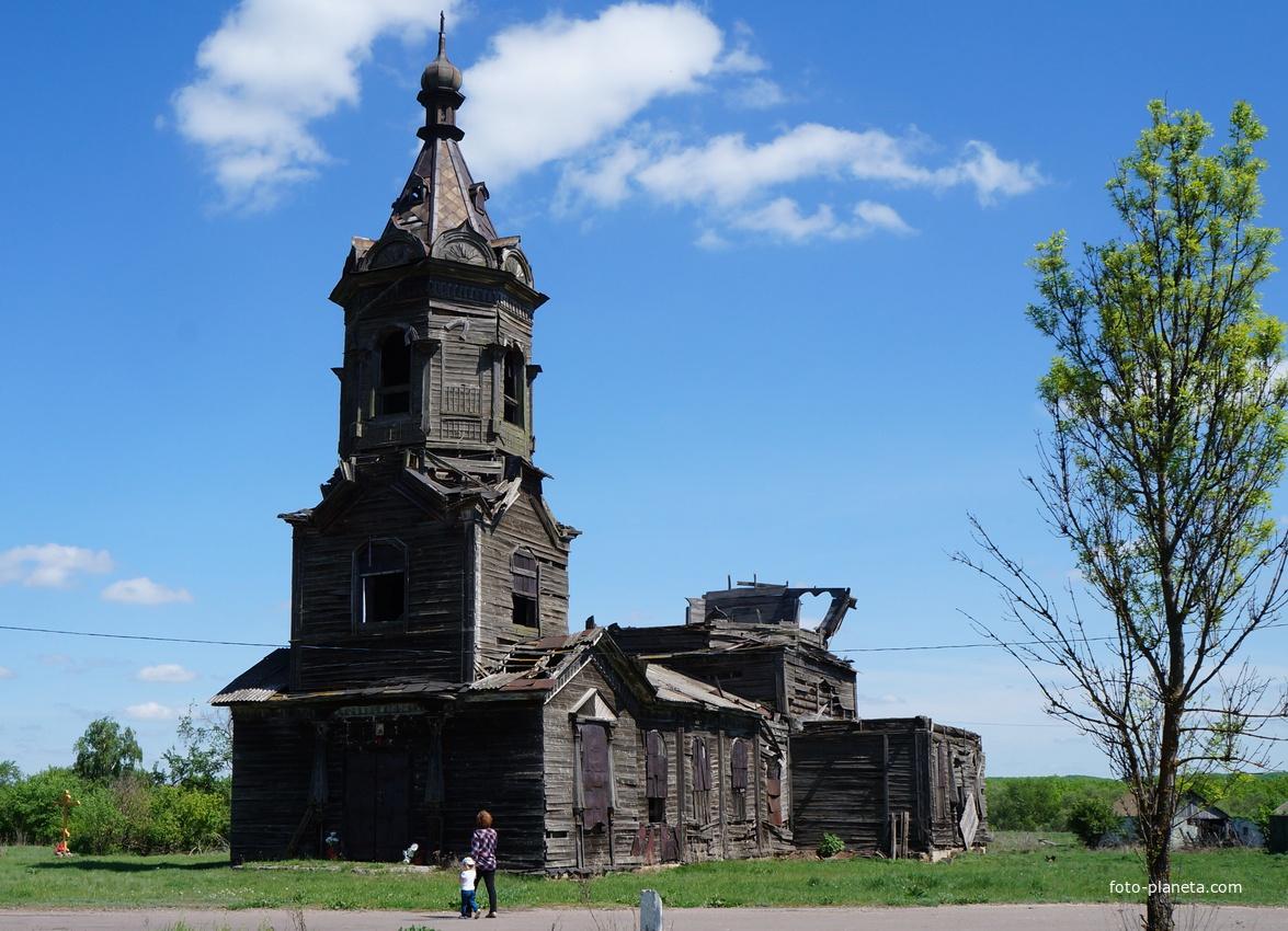 Церковь Николая Чудотворца (деревянная) (Борисоглебск)