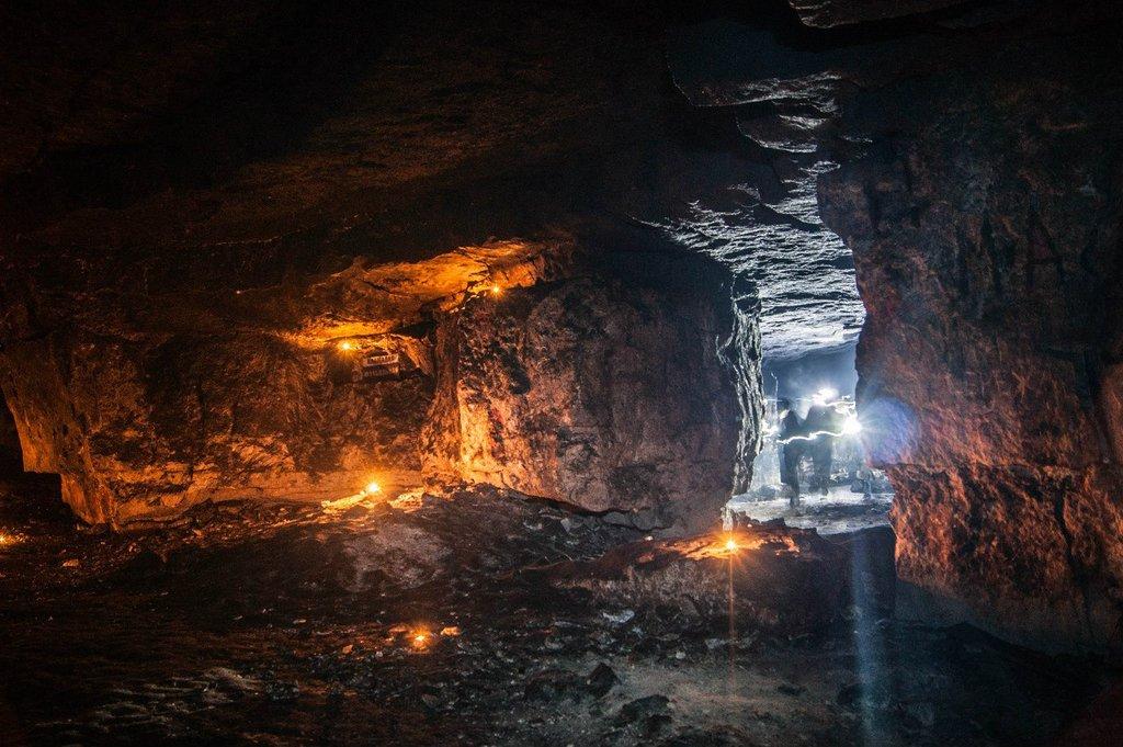 Сьяновские пещеры (Домодедово)